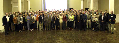 group photo at reunion