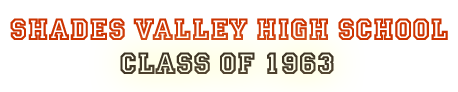 Shades Valley Class of 1963